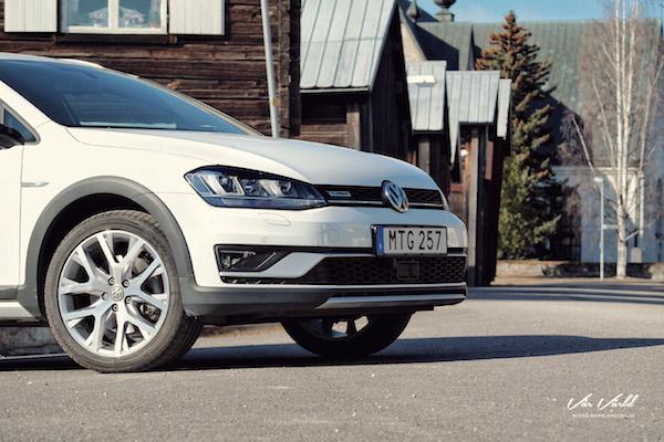 VW Golf Alltrack Europe 2016. Picture courtesy mullersvarld.se