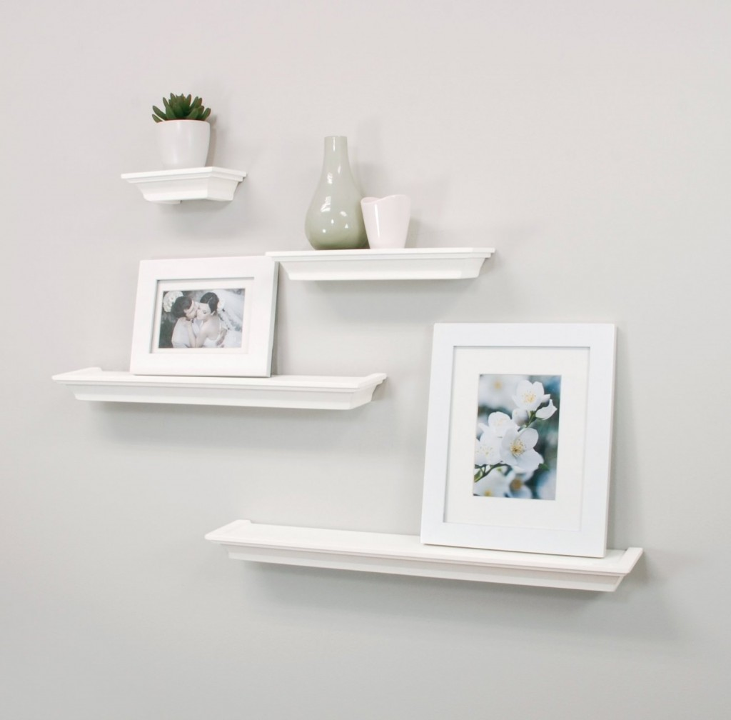 White Floating Shelves Top 20+ White Floating Shelves For Home Interiors