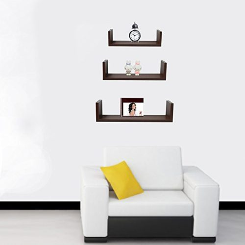 Medium Of Small Wall Bookcase