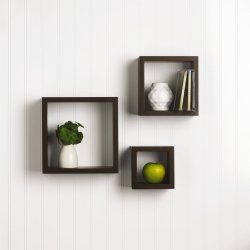 Small Of Floating Square Shelves