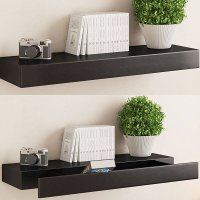 10 Amazing Floating Shelves With Drawers That Make Your ...