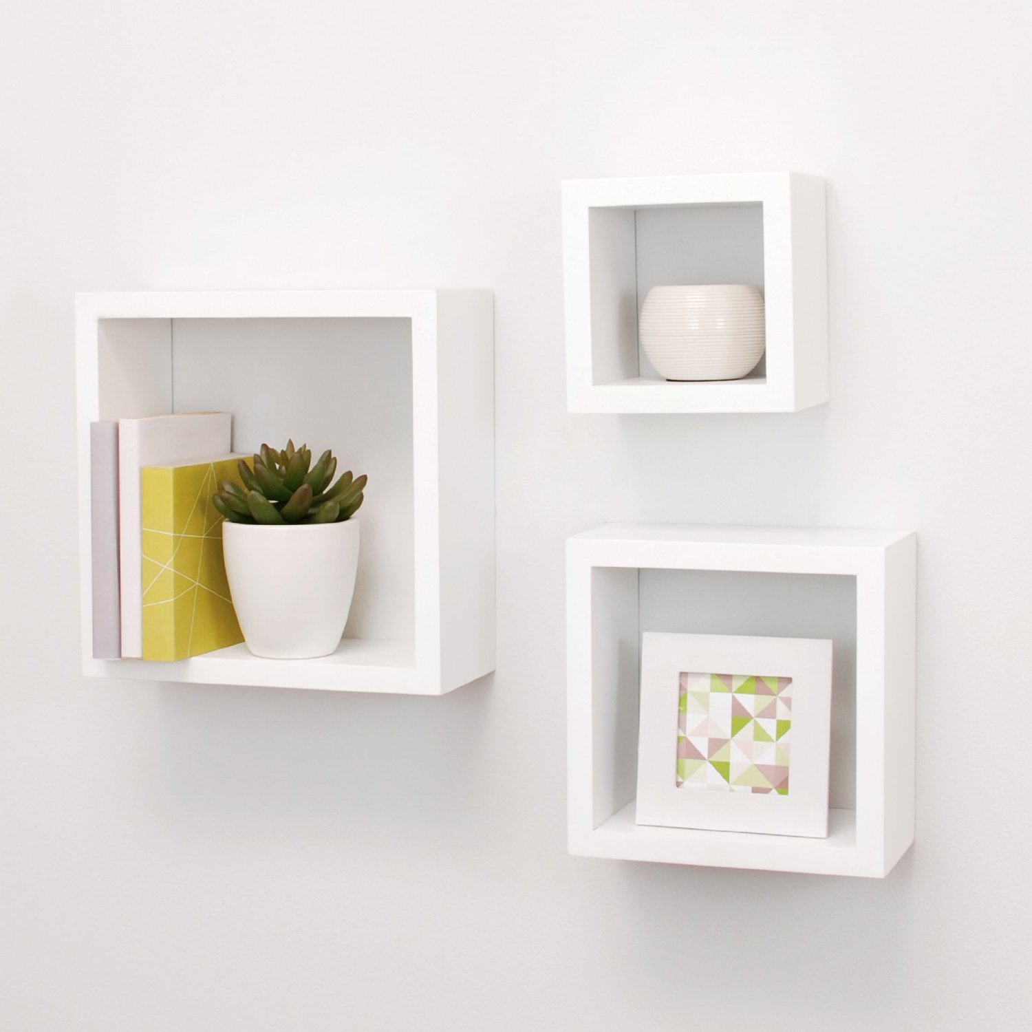 Modern Wall Shelving Top 15 Floating Wooden Square Wall Shelves To Buy Online