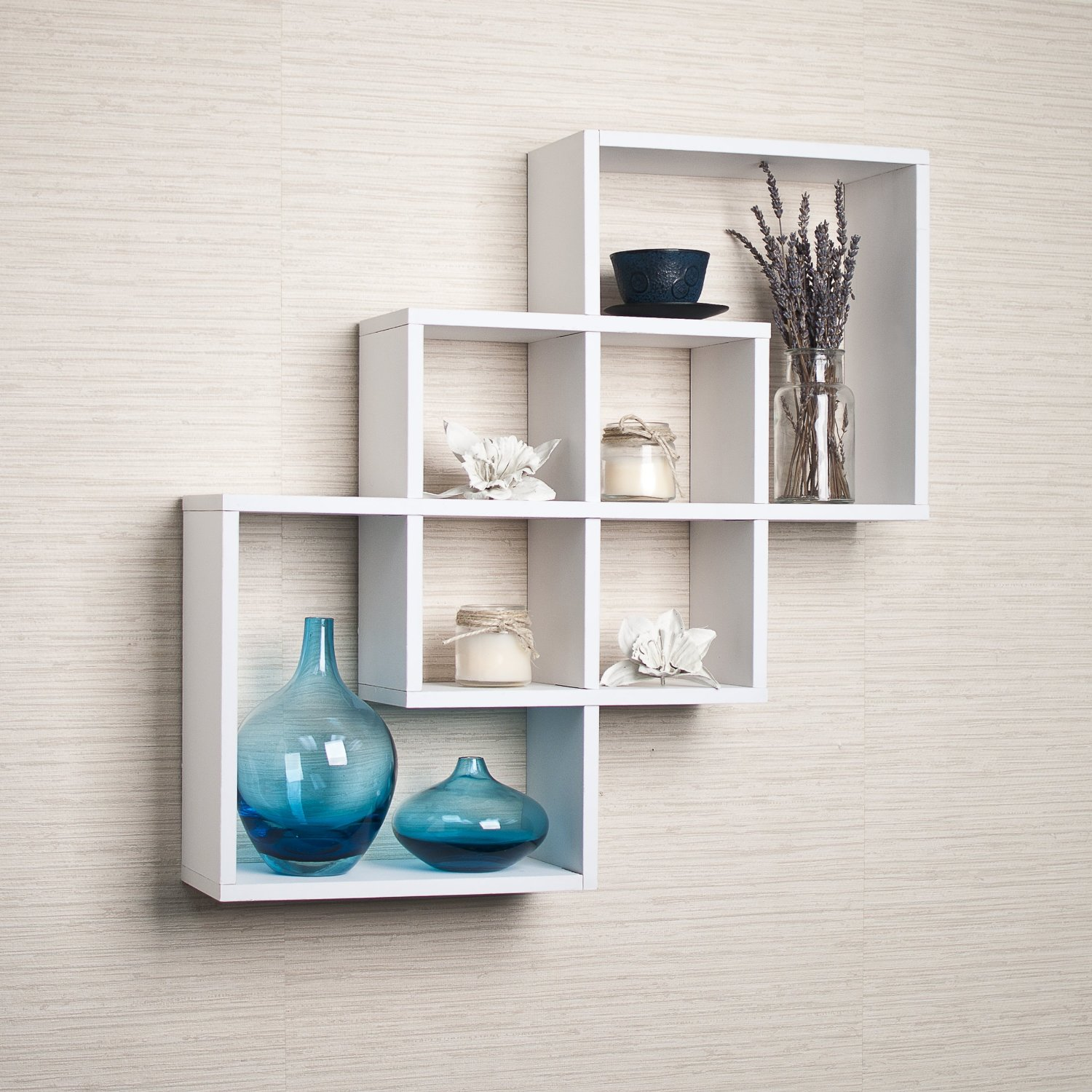White Wall Book Rack Top 15 Floating Wooden Square Wall Shelves To Buy Online