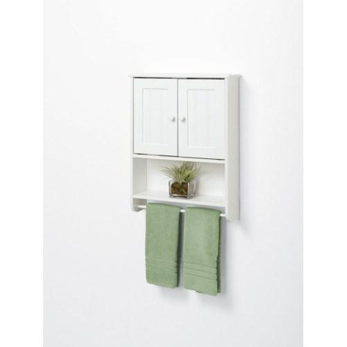 Medium Crop Of White Wood Bathroom Shelf