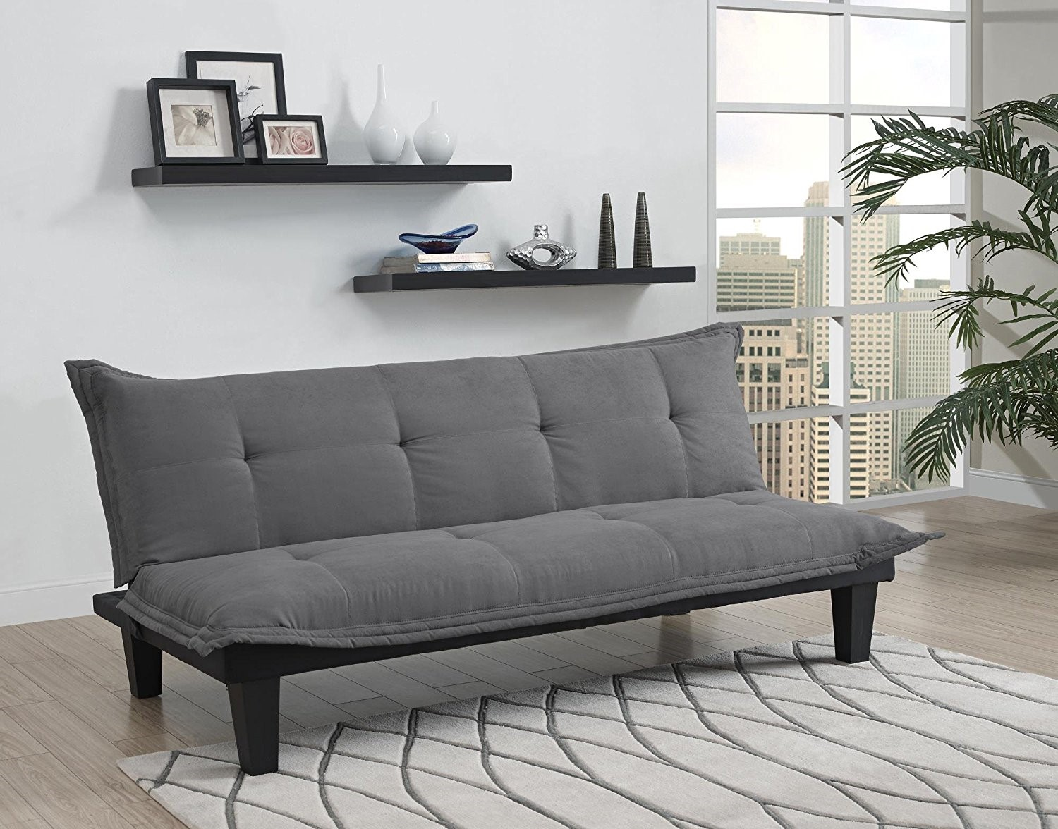 Cheaper Convertible Sofa Bed With Microfiber Upholstery Review