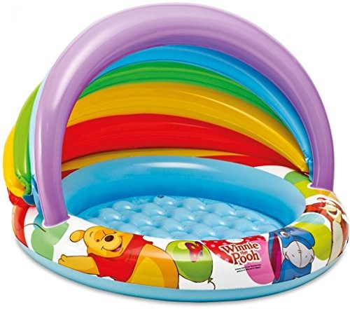 "Mini Frame Zwembad Disney's Winnie The Pooh Baby Pool Intex 40"" X 27"" - Best"