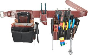 Occidental Leather 5590 M Commercial Electrician's Set Tool Belt
