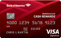 BankAmericard Cash Rewards Credit Card