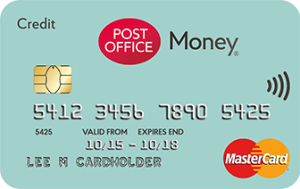 postoffice credit card