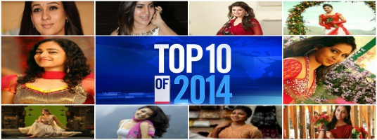 Top 10 Tamil Actress in 2014