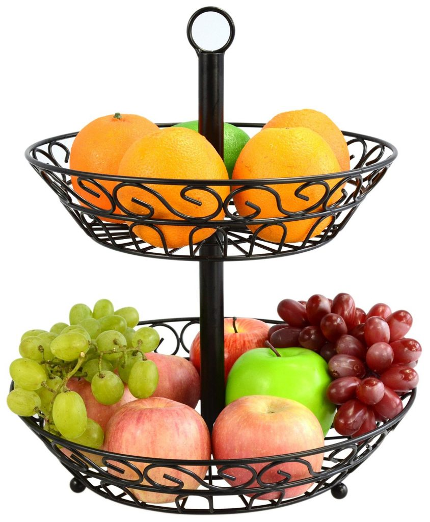 Wire Fruit Bowls 10 Best Attractive Fruit Bowls And Baskets Of 2019 Bestviva