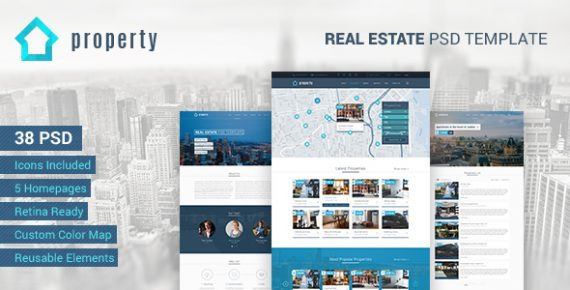 Property \u2013 Real Estate PSD Template \u2013 BestWebSoft