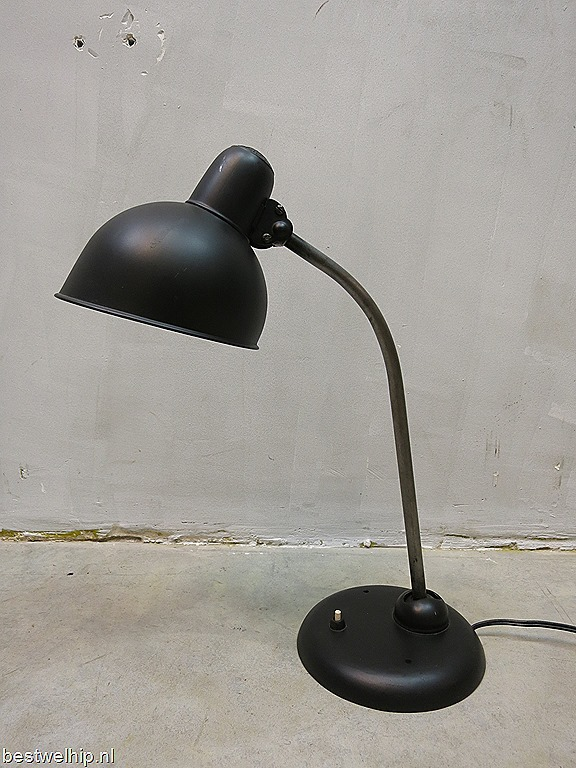 Telefoonnummer Philips Verlichting Bauhaus Vintage Design Bureaulamp Idell Kaiser Table Lamp