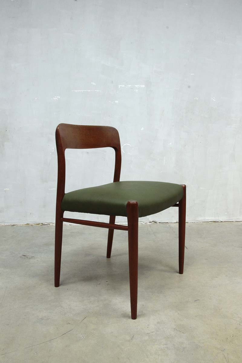 Verlichting Deens Design Moller Danish Dining Chairs Dinner Chair, Moller