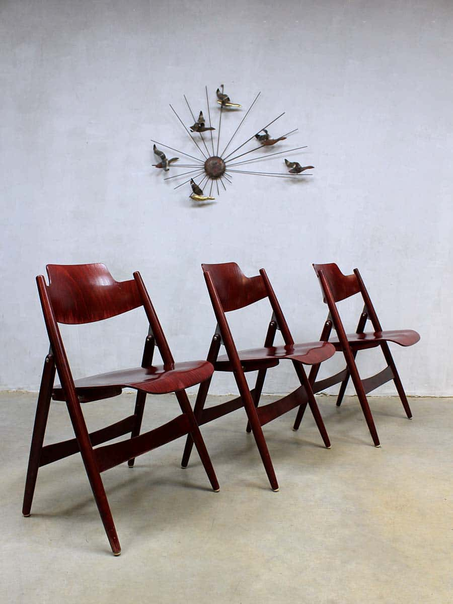 Wandlamp Eetkamer Mid Century Folding Chair Se18 Egon Eiermann For Wilde