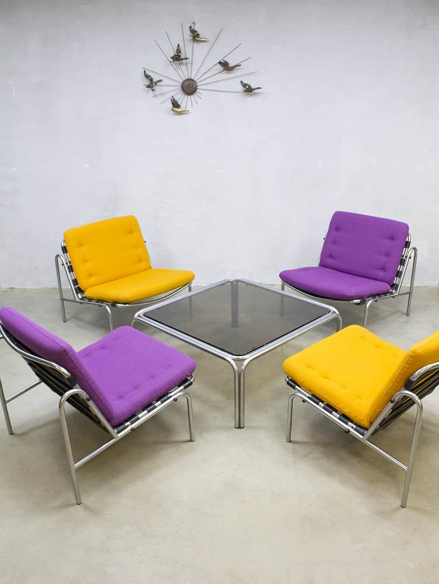 Oranje Fauteuil Osaka Lounge Set Lounge Chair Martin Visser Expo 1970