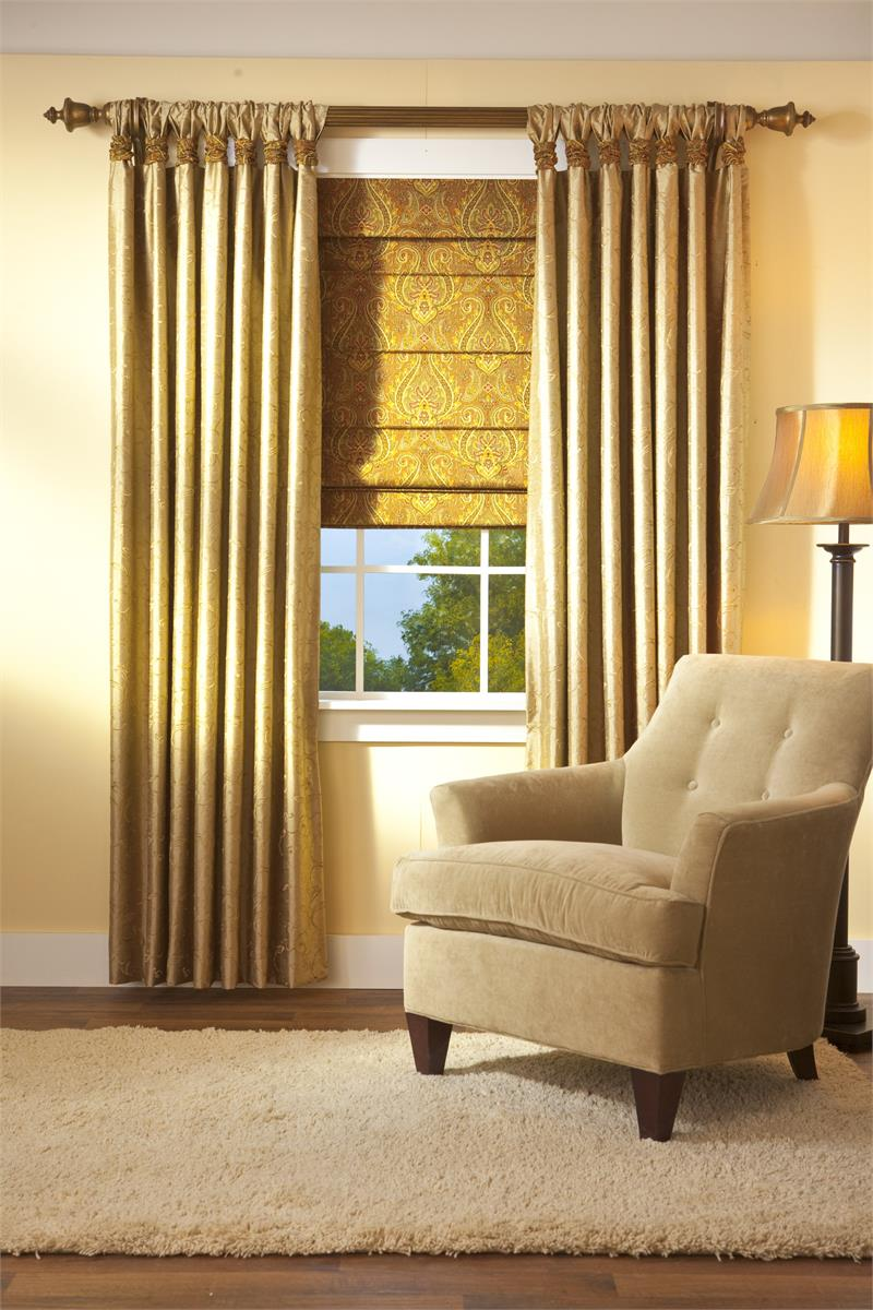 Curtain For Double Window Custom Gathered Tab Top Curtain Double Width Side Panel Group 5