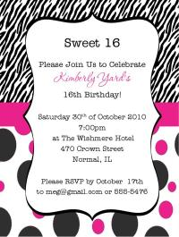 17th Birthday Party Invitation Wording Best Happy .