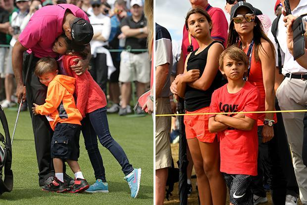 photos of tiger woods children 2018 photos of the year