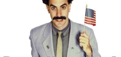 B-82A    Jagshemash!  Borat so excite to travel to U.S. and A!