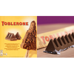 Small Crop Of Toblerone Ice Cream