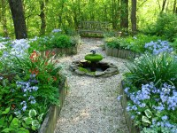 A Pretty Little Shade Garden Design