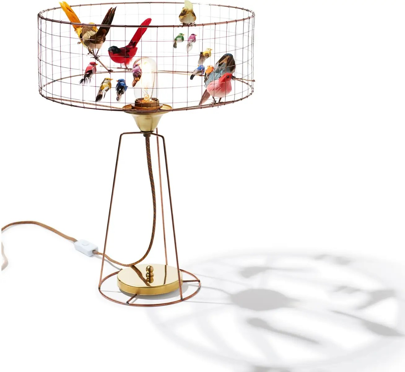 Suspension Voliere Drum La Volière Table Lamp