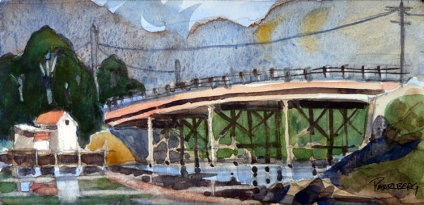 Pierce Island Bridge Sketch