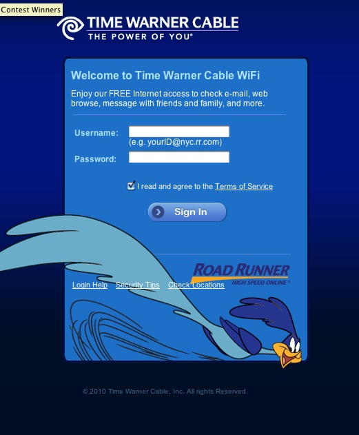 Time Warner Cable just gave New York free Wi-Fi TechCrunch - time warner cable internet customer service