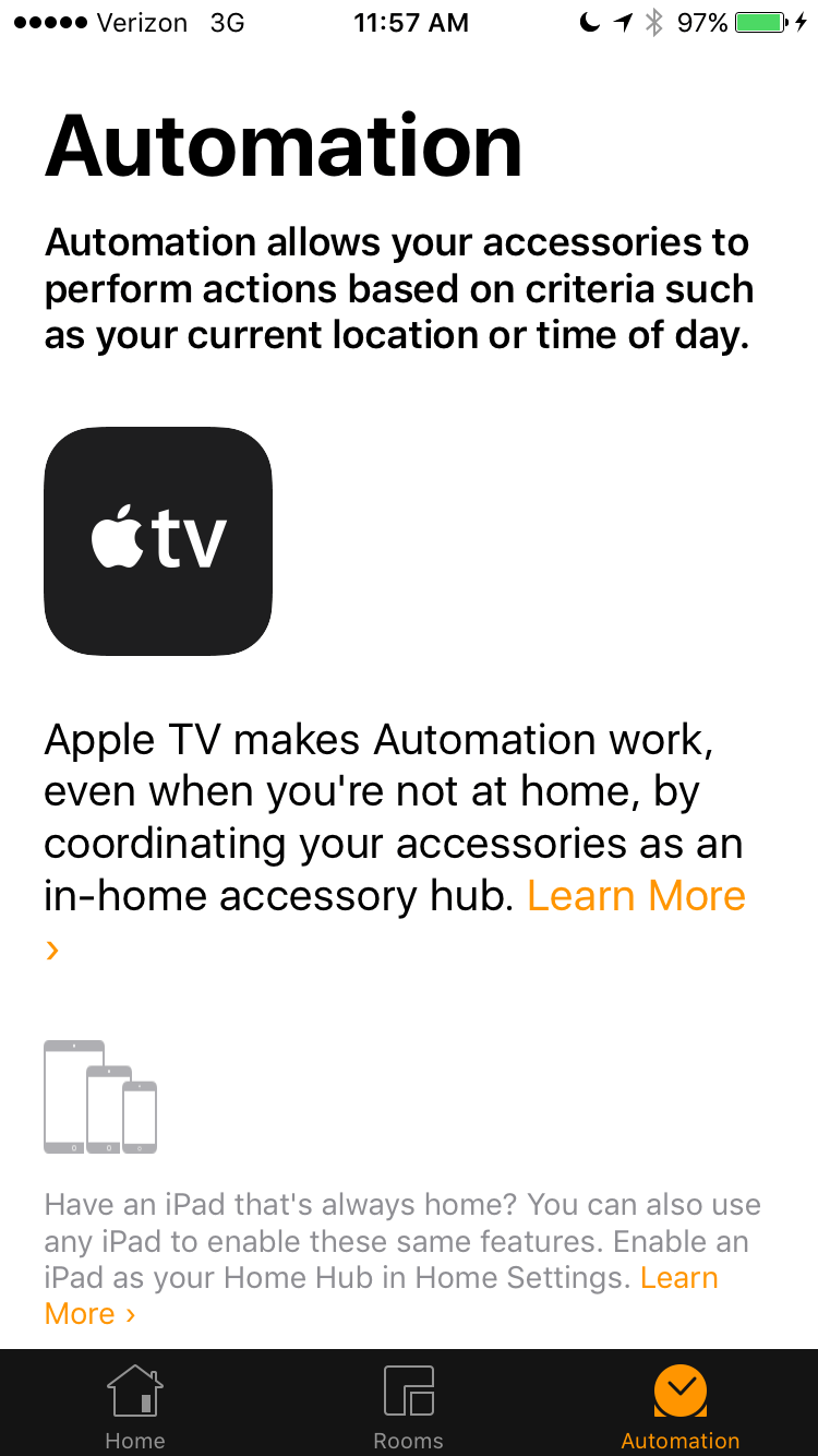 Homekit Compatible Hub Don T Have An Apple Tv The Ipad Can Also Be A Home Hub For