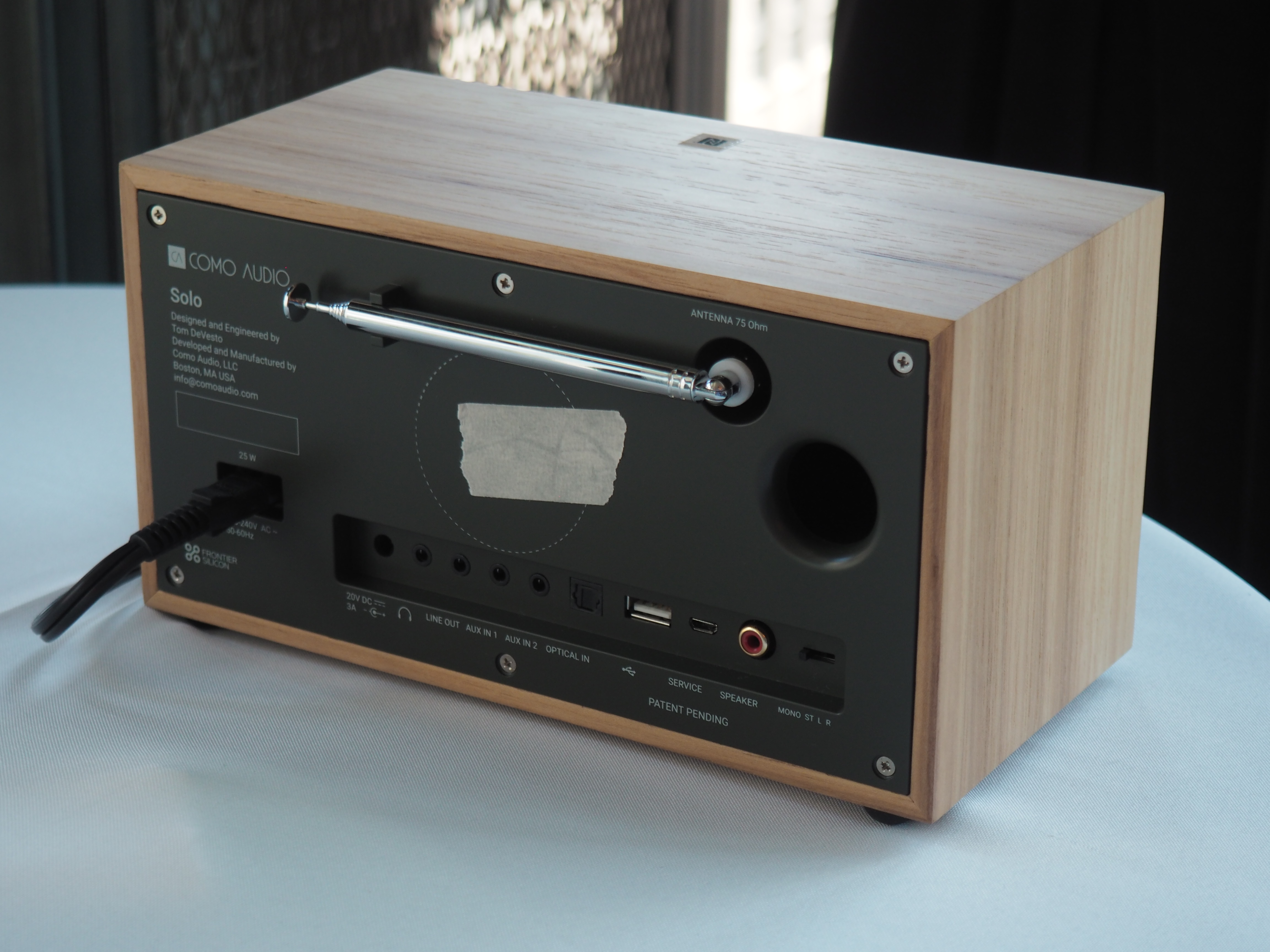 Tivoli Radio Designer Tivoli Audio S Founder Launches A Kickstarter Campaign For His New