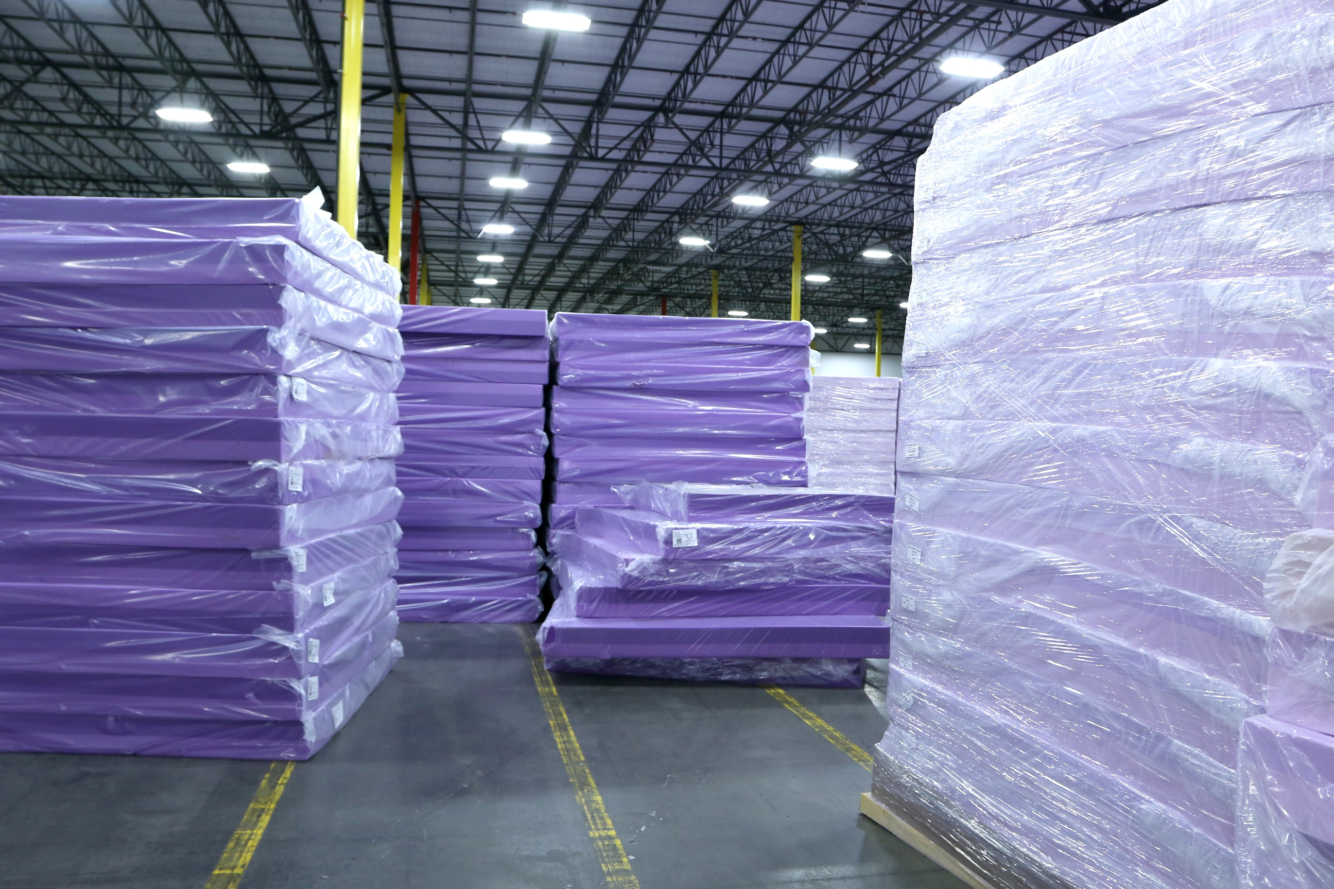 Purple Mattress Review Mattress Startup Purple Launches In 13 Mattress Firm Store