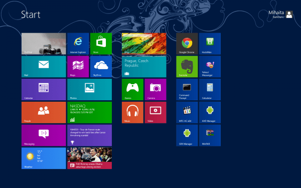 Microsoft Animated Wallpaper Windows 8 Review