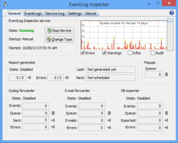 Monitor your Windows event logs with EventLog Inspector