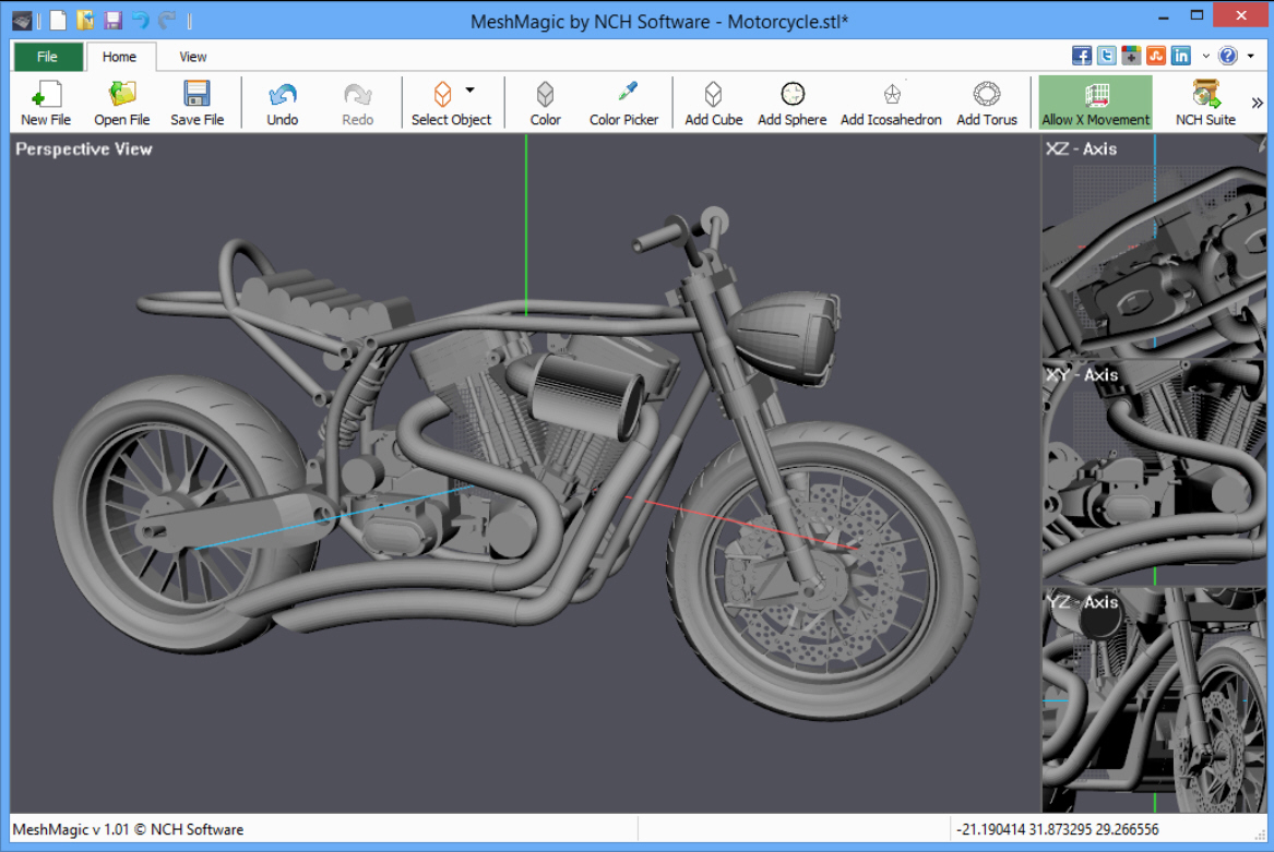 3d Programme Meshmagic 3d Is A Simple Stl Viewer And Editor