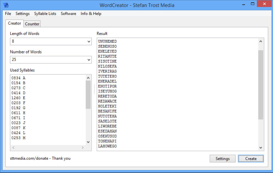 Password Generator Create Random Passwords In A Click Generate Passwords You Can Actually Remember With Wordcreator