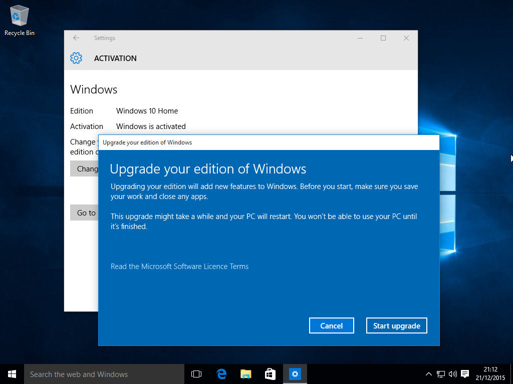 Home To Go Deutschland Upgrade From Windows 10 Home To Pro Using This Product Key