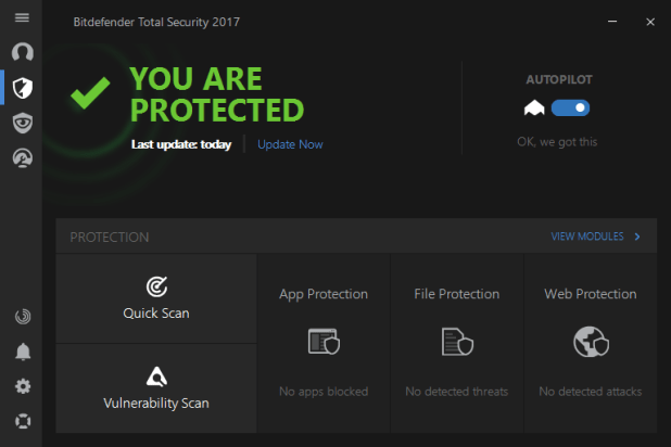 Image result for Bitdefender Total Security 2017