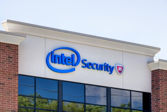 Intel Security will revert to the McAfee name