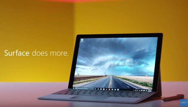 With its new Surface Pro 4 vs MacBook Air ad, Microsoft just looks