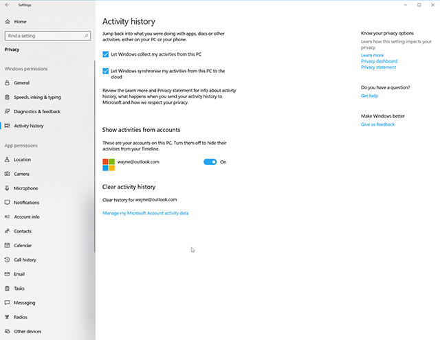 How to use Windows 10\u0027s new Timeline feature - timeline windows
