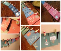 How to Make an Easy Handmade Advent Calendar ...
