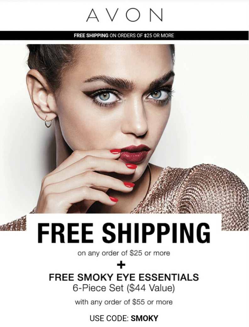 Free shipping plus makeup