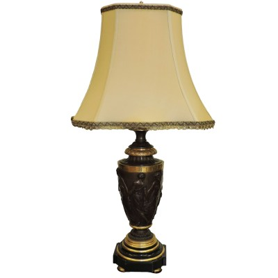 antique Bronze Lamp