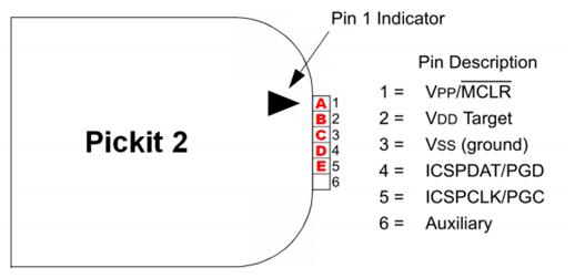 pickit 1 circuit diagram
