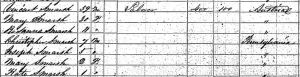 Vincent Smarsh 1860 US Census for PA