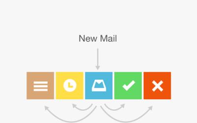 Countdown: Mailbox App