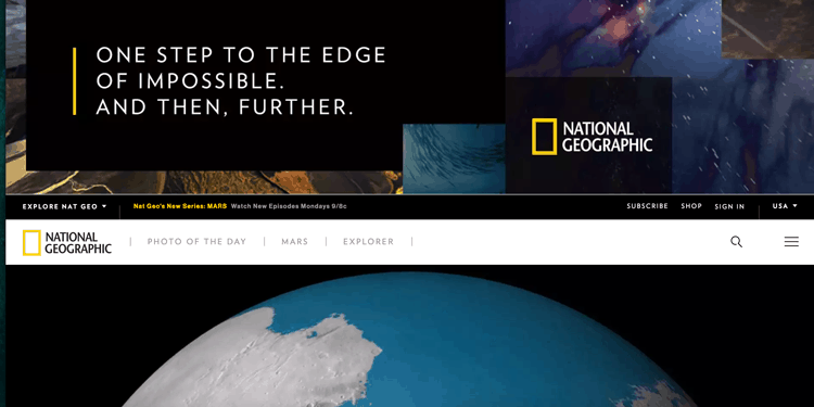national geographic website