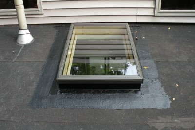 Finished Velux Skylight