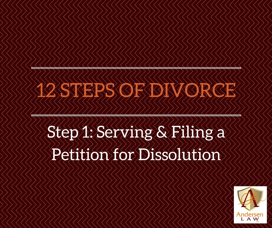 12 STEPS OF DIVORCE Step 1 - Serving and Filing a Petition for